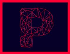 POLYA /// Free FontInspired by low-poly, Polya is a Free line font.There is also many glyphs and all numbers !Don't forget to support if you like it !! :)