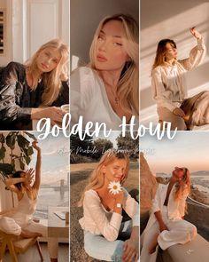Vsco Presets, Lightroom Presets, App One, Best Photoshop Actions, Instagram Influencer, Outdoor Photography, Photo Look, Golden Hour