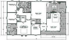 Fleetwood mobile home floor plans and prices durango for Southfork ranch house floor plan