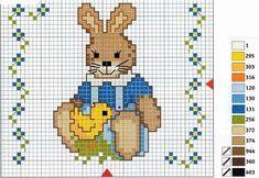 Chicken Cross Stitch, Easter Cross, Folk Embroidery, Canvas Crafts, Bargello, Cross Stitching, Easter Bunny, Pixel Art, Cross Stitch Patterns