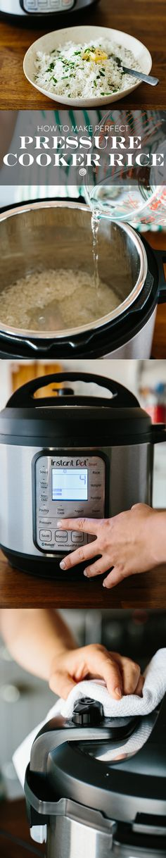 How To Cook Rice FAST in the Electric Pressure Cooker. Using your pressure cooker is the FASTEST EASIEST way to make perfect rice as quickly as possible. Make a delicious and simple, foolproof side dish for a weeknight dinner in a hurry. Ricer cooker recipes don't even compare.