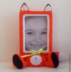 Купить Фоторамка Лисичка - рыжий, фоторамка, рамка для фото, рамки, фото, портретная кукла, портрет