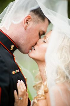 Love this. Marine Wedding