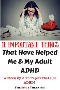 I've had ADHD all my life but I didn't know about it until my mid-twenties. It's been almost 10 years and I've learned a lot. In this post, I am sharing with you 11 important things that have helped me and my adult ADHD! Inattentive Adhd, Adhd Quotes, Adhd Diagnosis, Adhd Signs, Adhd Brain, Adhd Help, Adhd Diet, Adhd Strategies, Adhd Symptoms