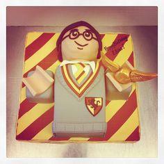 Harry Potter Lego Cake