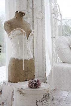 La Fabrique à Déco: Les mannequins de couture : Tendance déco vintage