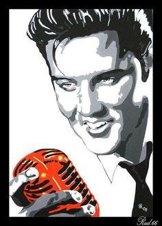 Elvis art  #elvisserendipity