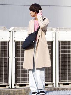 Lui'sのチェスターコート「ダブルテロンチ」を使ったあらい(Lui's ルミネマン渋谷店)のコーディネートです。WEARはモデル・俳優・ショップスタッフなどの着こなしをチェックできるファッションコーディネートサイトです。