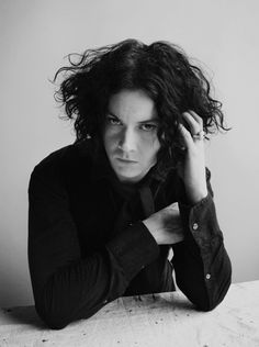 Jack White. shagworthy hair.