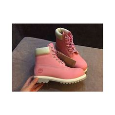 Custom Timberland Boots ❤ liked on Polyvore featuring shoes, boots, timberland footwear, timberland boots and timberland shoes