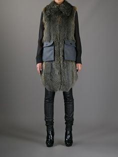 MARNI EDITION - fox fur gilet 7