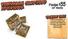 Brassmoon Courtyard Level Supporter Rewards for Kickstarter Campaign #GoblinsGame
