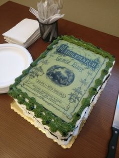 Middlemarch Cake via Newberry Library