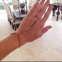Ring to wrist bracelets #handmade #fingerbracelet #boho #jewelrytrends