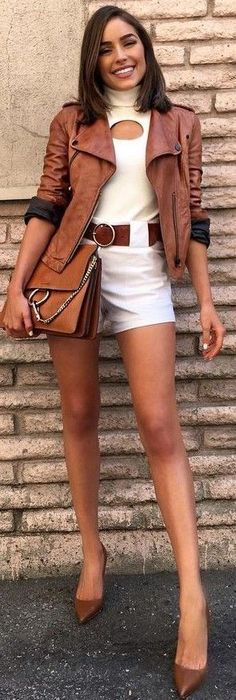 #fall #trending #outfits |  Camel + Whites