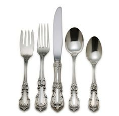 """Reed and Barton """"Burgundy"""" sterling silver flatware"""