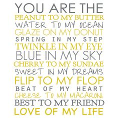 You Are Wall Art