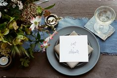 A Stunning Wedding Shoot Inspired By A To-Die-For View #refinery29 http://www.refinery29.com/100-layer-cake/89#slide16 Catering: Huntington Catering Company.