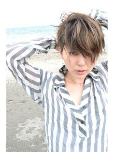 ツーブロック アッシュ エアリーショート butterfly常盤大地 - 24時間いつでもWEB予約OK!ヘアスタイル10万点以上掲載!お気に入りの髪型、人気のヘアスタイルを探すならKirei Style[キレイスタイル]で。