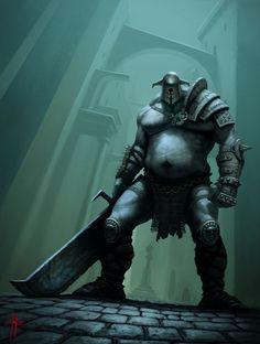 Guardian of the city by MrTomLong.deviantart.com