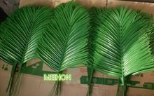 Artificial palm leaves Green plants Decorative Flowers / wedding decoration /artificial flowers for decoration 36 cm long(China (Mainland))
