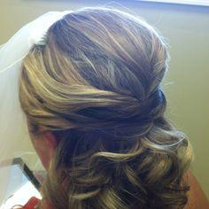 My wedding hair do!