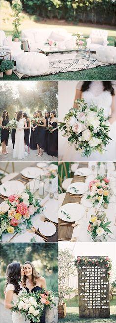 Featured Photographer: Jen Huang; wedding reception details