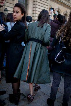 They Are Wearing: Paris Fashion Week   WWD