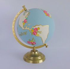 Crafts with Globes - Sugar Bee Crafts