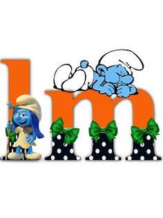 S.T.R.U.M.F.: Litere cu strumfi 2 Math For Kids, Alphabet Letters, Yoshi, Smurfs, Cartoon, Blog, Fictional Characters, Letters Of Alphabet, Cartoons