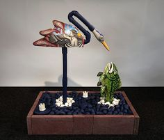 There is more than one way to fish in Jason Walker's 'Phishing.'  On the River, Down the Road is on view at Bellevue Arts Museum, Oct 3, 2014 - March 1, 2015