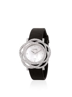 WATCH IN 18K WHITE GOLD AND DIAMONDS