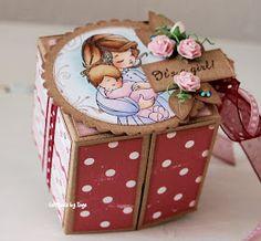 Whiff of Joy - Tutorials & Inspiration: Baby Gift Box by Inge Groot