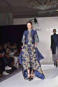 Denny Wirawan. Balijava Batik Kudus collection at New York Fashion Week 2016. #IndonesiaKaya