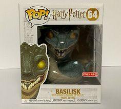 "Funko Pop Harry Potter # 64 - 6"" Basilisk  Pop Protector #affilink #popdolls #funkopop #popdolllot Color Pop App, Harry Potter Invisibility Cloak, St Lucie, Harry Potter Professors, Lord Voldemort, Sorting Hat, Pop Dolls, Pop Vinyl, Fantastic Beasts"
