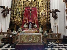 Arreglos templo para boda #RamónLuque #Bodas | ramonluque.es