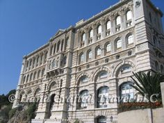 Travel Picture: Day 222. The Oceanographic Museum in Monaco. Built in 1911, the museum was run by famed oceanographer Jaqcues Cousteau from 1957 until 1988.