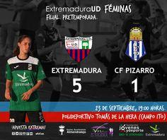 FILIAL   PRETEMPORADA  Extremadura 5-1 CF Pizarro  El equipo de Alfonso consigue la victoria.   #soloparavalientes #filial