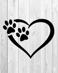 20 Ideas For Tattoo Dog Silhouette Etsy Dog Tattoos, Cat Tattoo, Animal Tattoos, Body Art Tattoos, Tatoos, Trendy Tattoos, Small Tattoos, Dog Silhouette, Dog Love