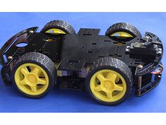 a very cool car chassis provided from www.smartarduino.com