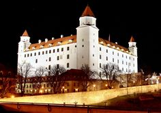 """Bratislava Castle: """"The 'upside-down bedstead' is the iconic image of the city and the grounds are a great place for a picnic with a view."""" Bratislava: the Bradt Guide; www.bradtguides.com"""