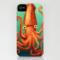 Giant Squid iPhone Case