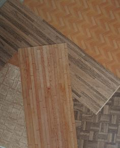 dolls houses and minis: How To Make floors