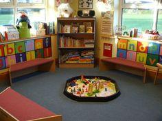 Kinderzimmer Gestalten Leseecke Sitz Kisten Schreibtisch Leseecke Runde  Stühle Sitzkissen Teenager Zimmer Bund Rund