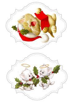 Ruth Moorhead Christmas Sheets, Christmas Topper, Christmas Makes, Christmas Clipart, Christmas Gift Tags, Christmas Printables, Vintage Christmas, Christmas Crafts, Decoupage