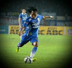 Hariono...player from Persib Bandung Indonesia