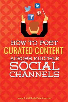 Do you manage several social media accounts?  Content curation plays a key role in keeping your social profiles and pages active, and your audience satisfied.  In this post I'll show you how to quickly and efficiently post curated content across all of your social networks using Sendible with Feedly and Zapier. Via @smexaminer