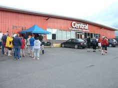 The Big Bike Ride for The Heart & Stroke Foundation of Canada got a great turnout at our Inverness store!
