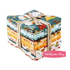 Possible fabric for boy's ABC quilt. School Days Fat Quarter Bundle<BR>Zoe Pearn Designs for Riley Blake Designs