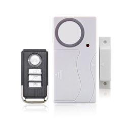 Wireless Home Ventana de La Puerta Antirrobo Sistema de ALARMA de Seguridad de BRICOLAJE Control Remoto Sensor Magnético